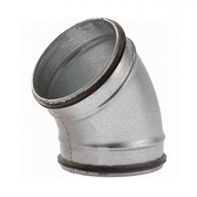 45 ° BOCHT SAFE 125mm