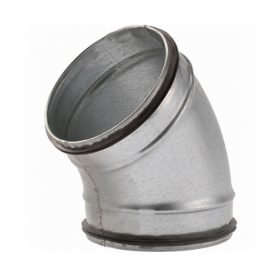 45 ° BOCHT SAFE 160mm