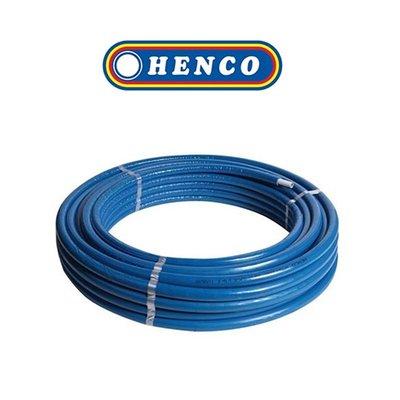 Henco Alpex buis voorgeisoleerd ISO4(6mm) 20x2mm 50M blauw