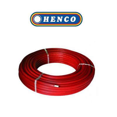 Henco Alpex buis voorgeisoleerd ISO9(10mm) 16x2mm 50M rood